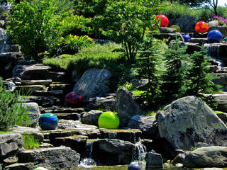 Chihuly installation at Waterfall in Meijer Gardens © ellenm1