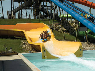 Der Lost Island Waterpark in Waterloo, Iowa © Lost Island Waterpark